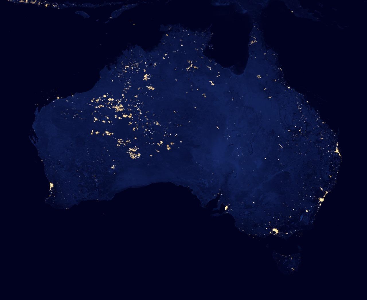nasa night lights - HD1200×800