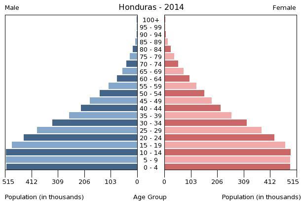 Bevölkerungspyramide 2014