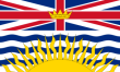 Flagge von British Columbia