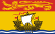 Flagge von New Brunswick