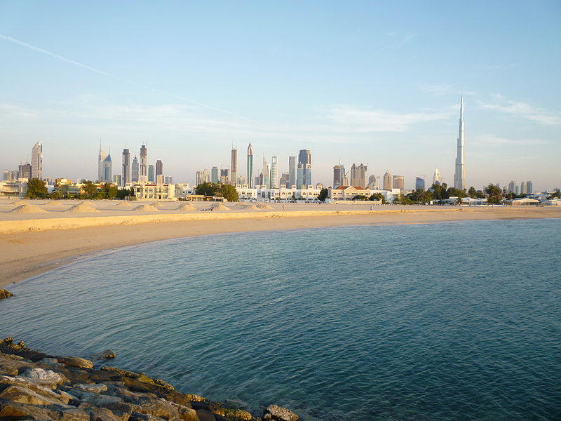 Dubai before Sunset