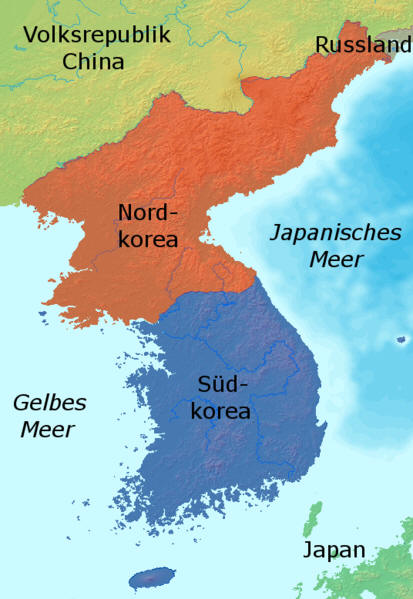 Landkarten Von Der Koreanischen Halbinsel Maps Of The Korean