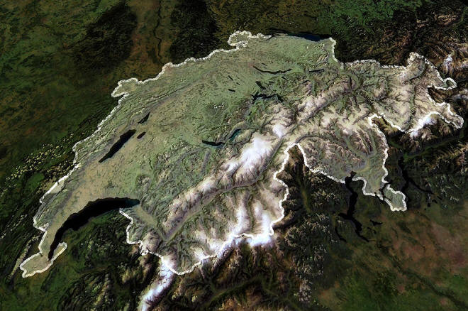 Switzerland satellite enhanced