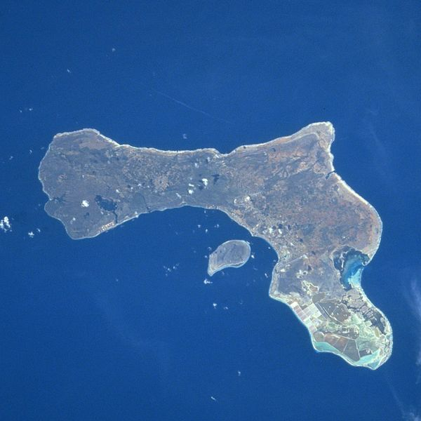 Satellitenfoto Bonaire
