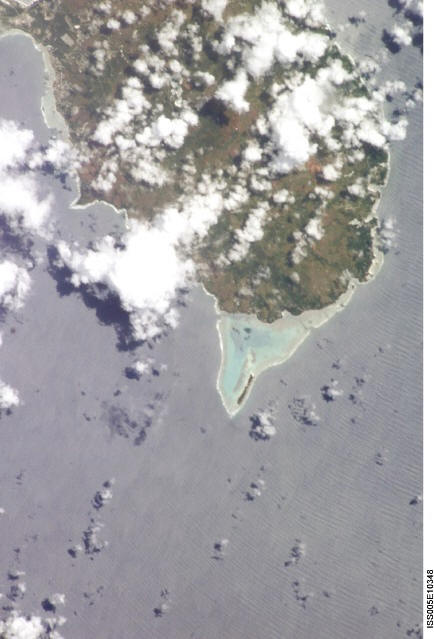 Satellitenfoto Südguam