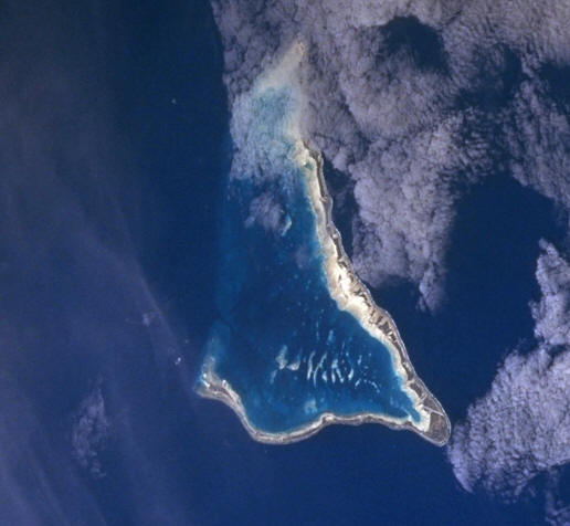 Satellitenbild Tarawa