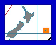 Zeitzonenkarte UTC+12:45 Ausschnittvergrößerung
